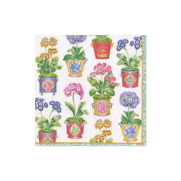 PRIMROSES PAPER COCKTAIL NAPKINS