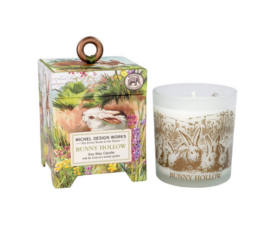 BUNNY HOLLOW 6.5oz SOY WAX CANDLE