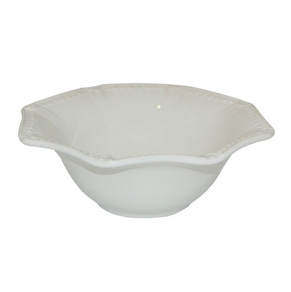 ISABELLA CEREAL BOWL - IVORY