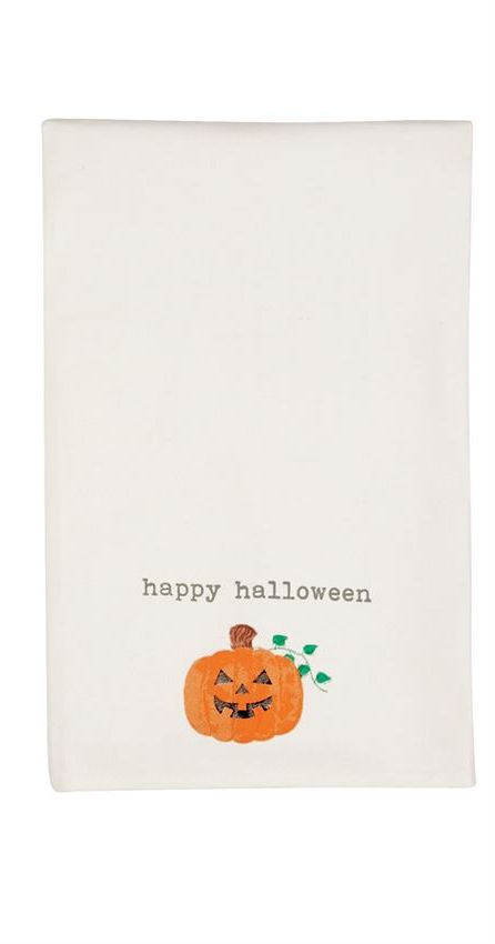 HAPPY HALLOWEEN HAND TOWEL