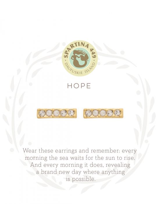 SEA LA VIE STUD EARRINGS HOPE/HORIZON