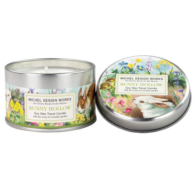 BUNNY HOLLOW TRAVEL TIN CANDLE