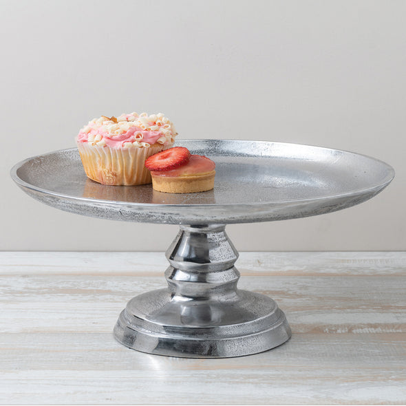 TEXTURED CAKE STAND