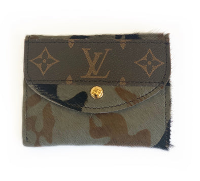 LOUIS VUITTON CAMO HIDE WALLET