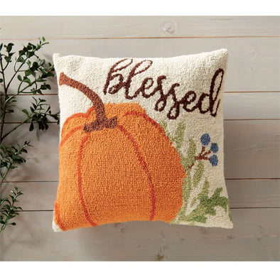 BLESSED HOOKED WOOL PILLOW