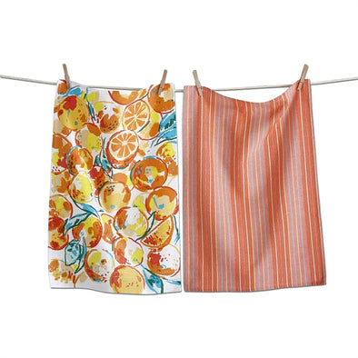 ORANGES DISHTOWEL SET