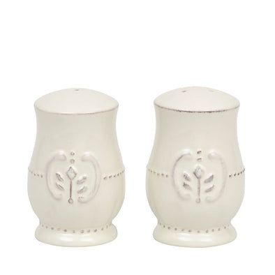 ISABELLA SALT + PEPPER SET - IVORY