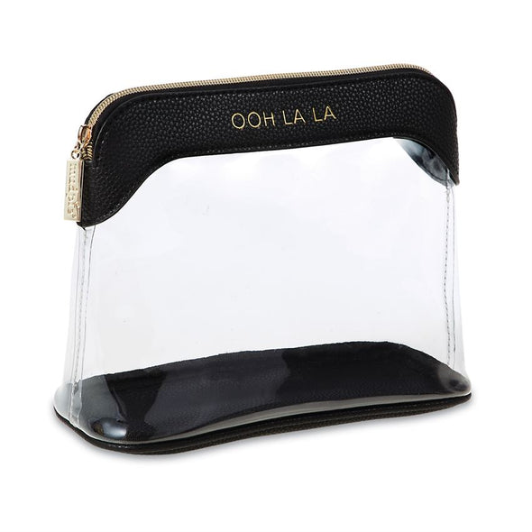 OH LA LA CLEAR MAKE-UP BAGS