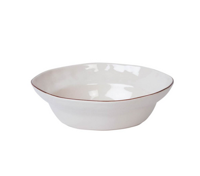 CANTARIA SERVING BOWL WHITE