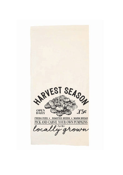HARVEST SEASON TEA TOWEL