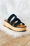 JOLT STRAP WEDGE BY CHINESE LAUNDRY