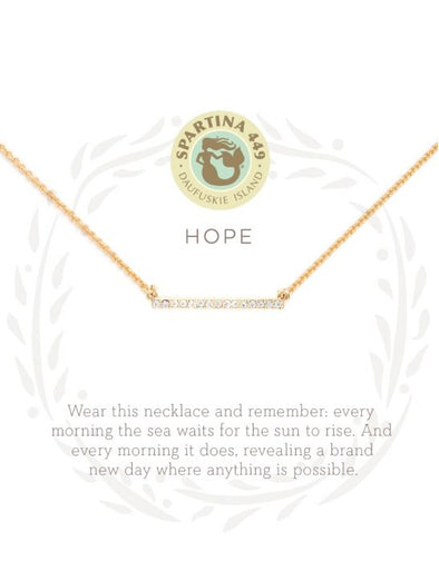 HOPE SEA LA VIE NECKLACE