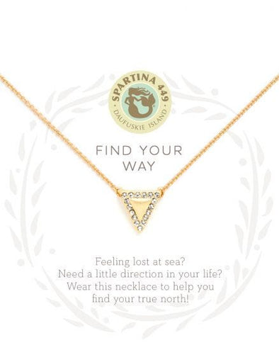 FIND YOUR WAY SEA LA VIE NECKLACE