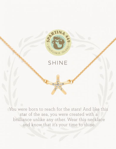 SHINE/STARFISH SEA LA VIE NECKLACE