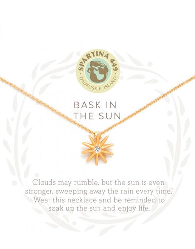 BASK IN THE SUN SEA LA VIE NECKLACE