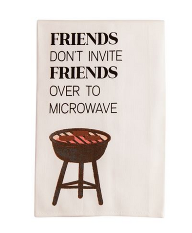 MUDPIE MICROWAVE BBQ COTTON TOWELS