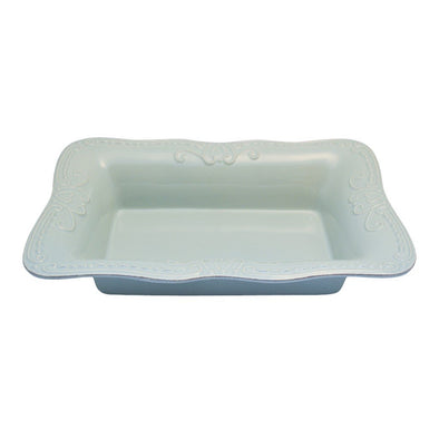 ISABELLA LARGE RECTANGULAR BAKER - ICE BLUE