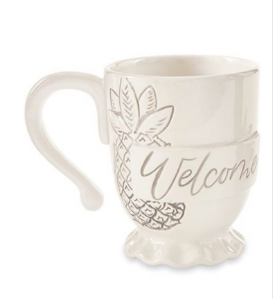 WELCOME PINEAPPLE MUG