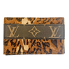 LOUIS VUITTON OMBRE LEOPARD BIFOLD CARD HOLDER