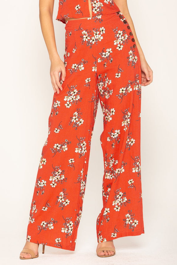 RESORT COUTURE PALAZZO PANT