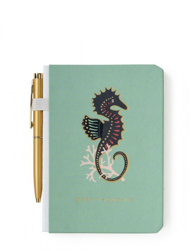 POCKET PEN NOTEBOOK, SEAHORSE