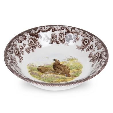RED GROUSE WOODLAND CEREAL BOWL (BROOKS)