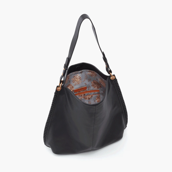 HOBO: MOONDANCE BLACK SHOULDER BAG