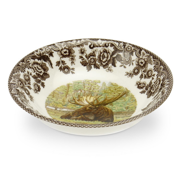 MOOSE WOODLAND CEREAL BOWL (BROOKS)