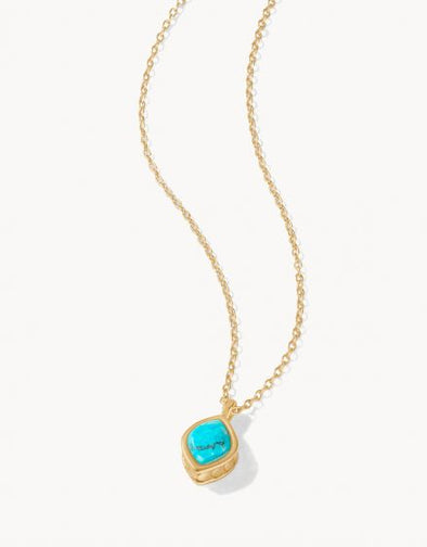NAIA PETITE NECKLACE, TURQUOISE