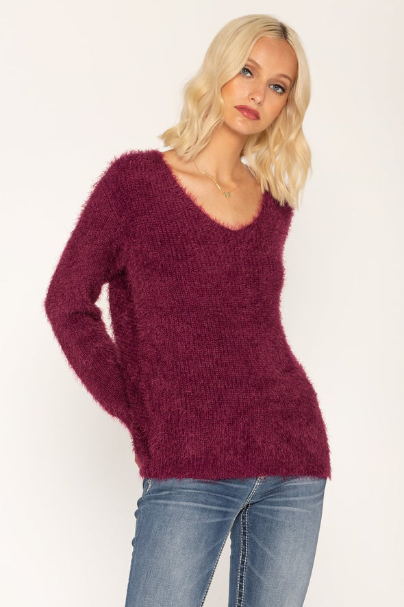 TWISTED HEART SWEATER