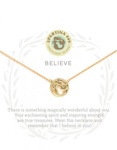 BELIEVE SEA LA VIE NECKLACE