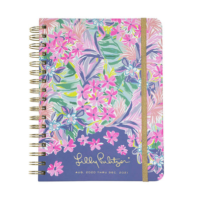 2020-2021 LILLY PULITZER 17 MONTH LARGE AGENDA IN IT WAS ALL A DREAM