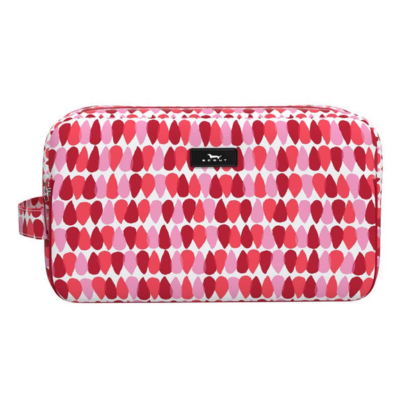 RAINDROPS ON ROSES GLAMAZON TOILETRY BAG