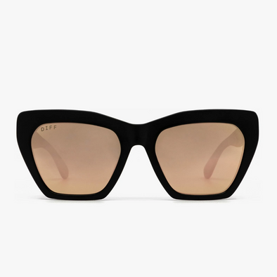 WREN - MATTE BLACK + TAUPE FLASH LENS