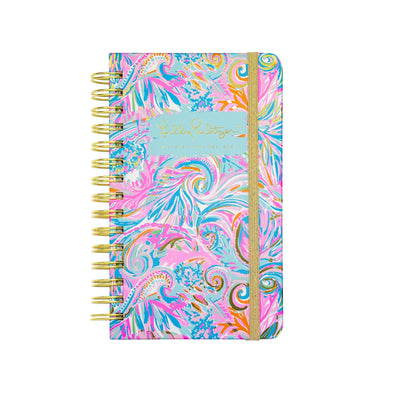 2020-2021 LILLY PULITZER 17 MONTH MEDIUM AGENDA IN CARNIVALE CORAL