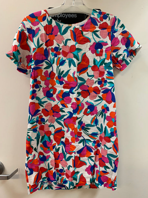 DRESS SHIFT BRIGHT FLORAL