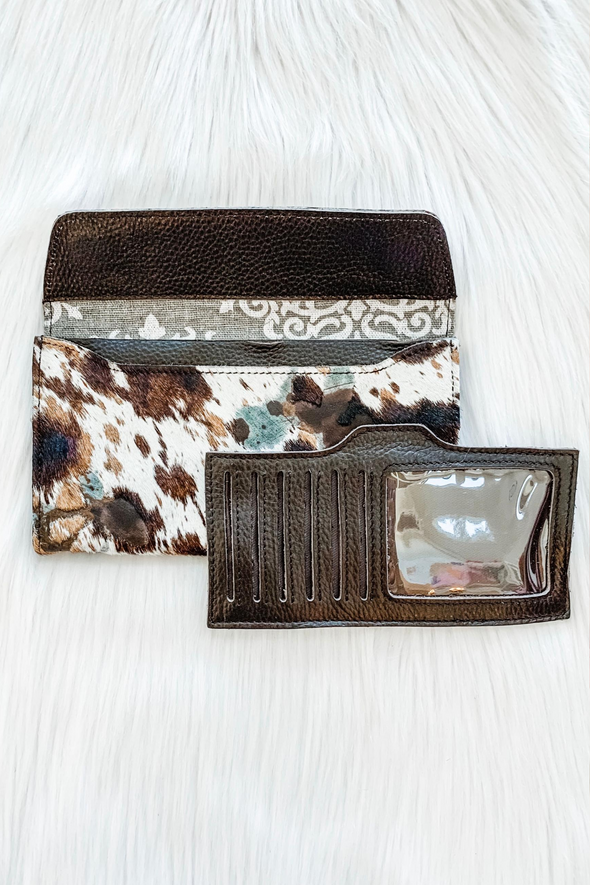 LOUIS VUITTON CALICO COUNTRY CLUTCH WALLET