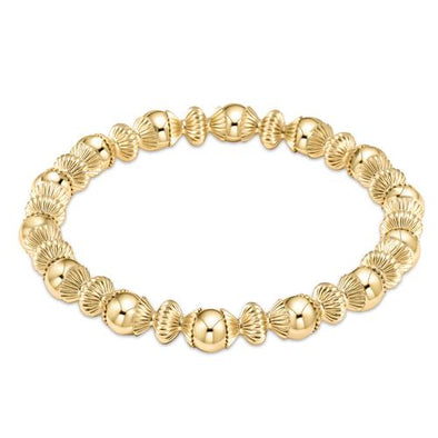 LOYALTY GOLD 6MM BEAD BRACELET