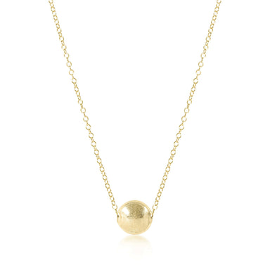 "16"" NECKLACE GOLD, HONESTY"