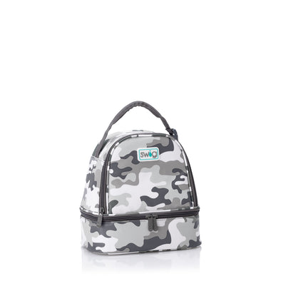 INCOGNITO CAMO ZIPPI LUNCH BAG