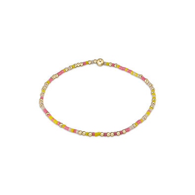 HOPE UNWRITTEN BRACELET, PINK LEMONADE