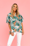 CROSBY: PARROT PARTY MAGGIE TOP