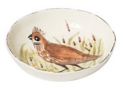 WILDLIFE QUAIL PASTA BOWL