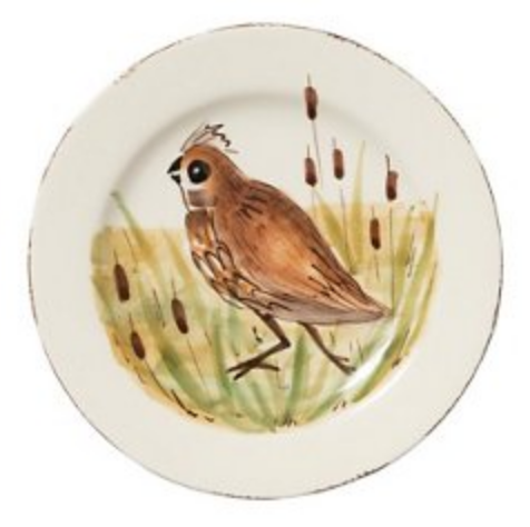 WILDLIFE QUAIL SALAD PLATE