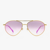 CAMERON EUBANKS - NON POLARIZED CAROLINA + GOLD PINK MIRROR LENS