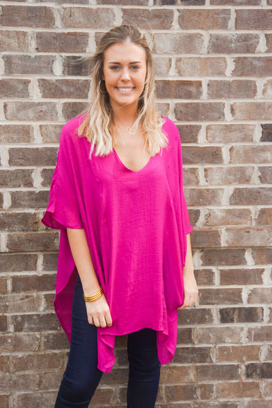 BERRY KAFTAN TUNIC