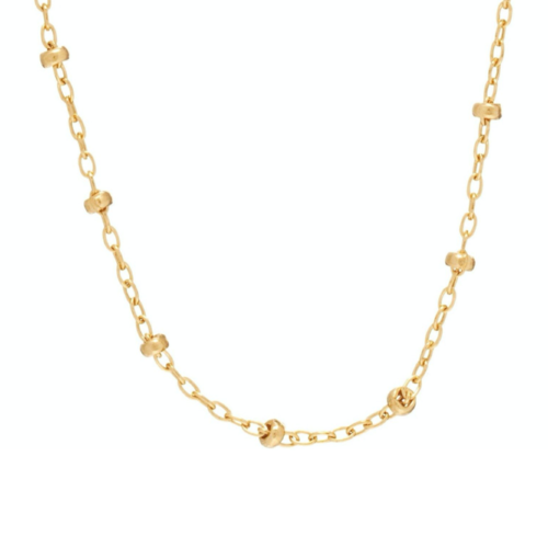 "15"" CHOKER SIMPLICITY CHAIN GOLD, 2MM BEAD GOLD"