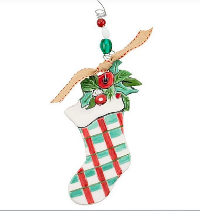 STOCKING FLAT ORNAMENT