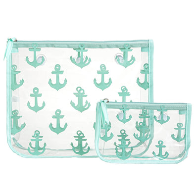 TURQUOISE ANCHOR BOGG BAG INSERT