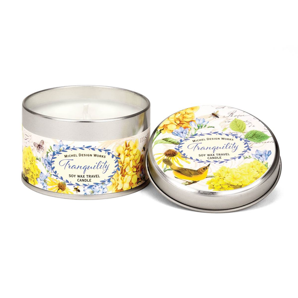 TRAVEL TIN CANDLE, TRANQUILITY